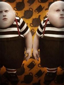 Matt Lucas in Alice in Wonderland