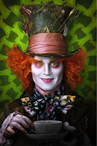 Johnny Depp in Alice in Wonderland